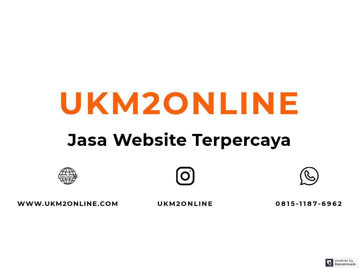 Jasa Buat Website Murah untuk UKM